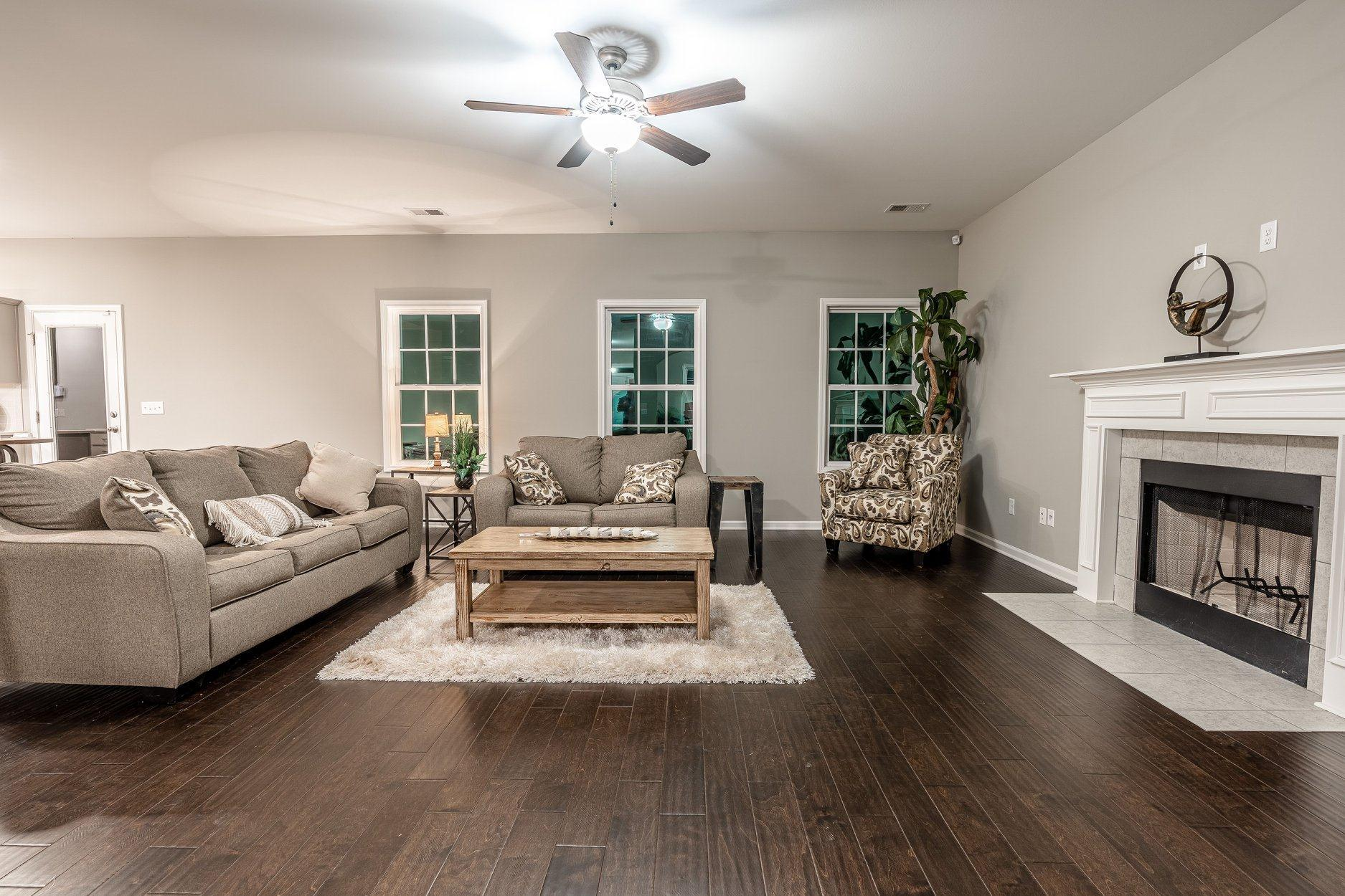 Living Area featured in the Harrison By Hughston Homes in Augusta, GA
