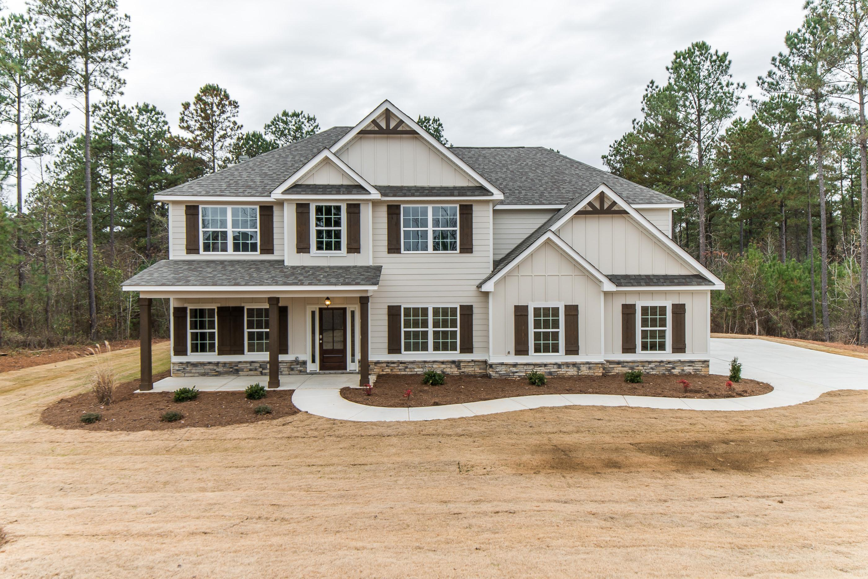Exterior featured in the Jackson By Hughston Homes in Columbus, GA