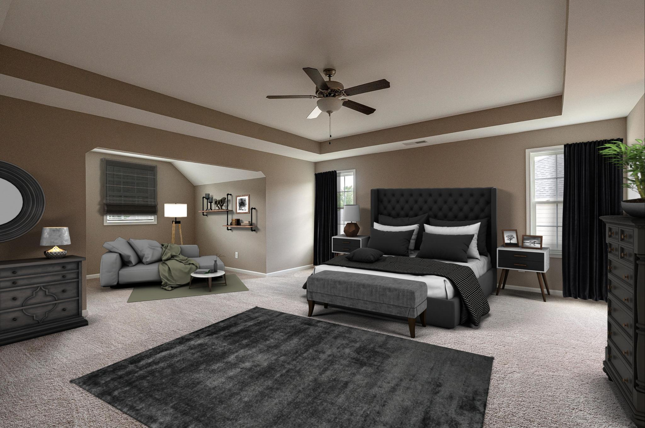 Bedroom featured in the Westover By Hughston Homes in Macon, GA