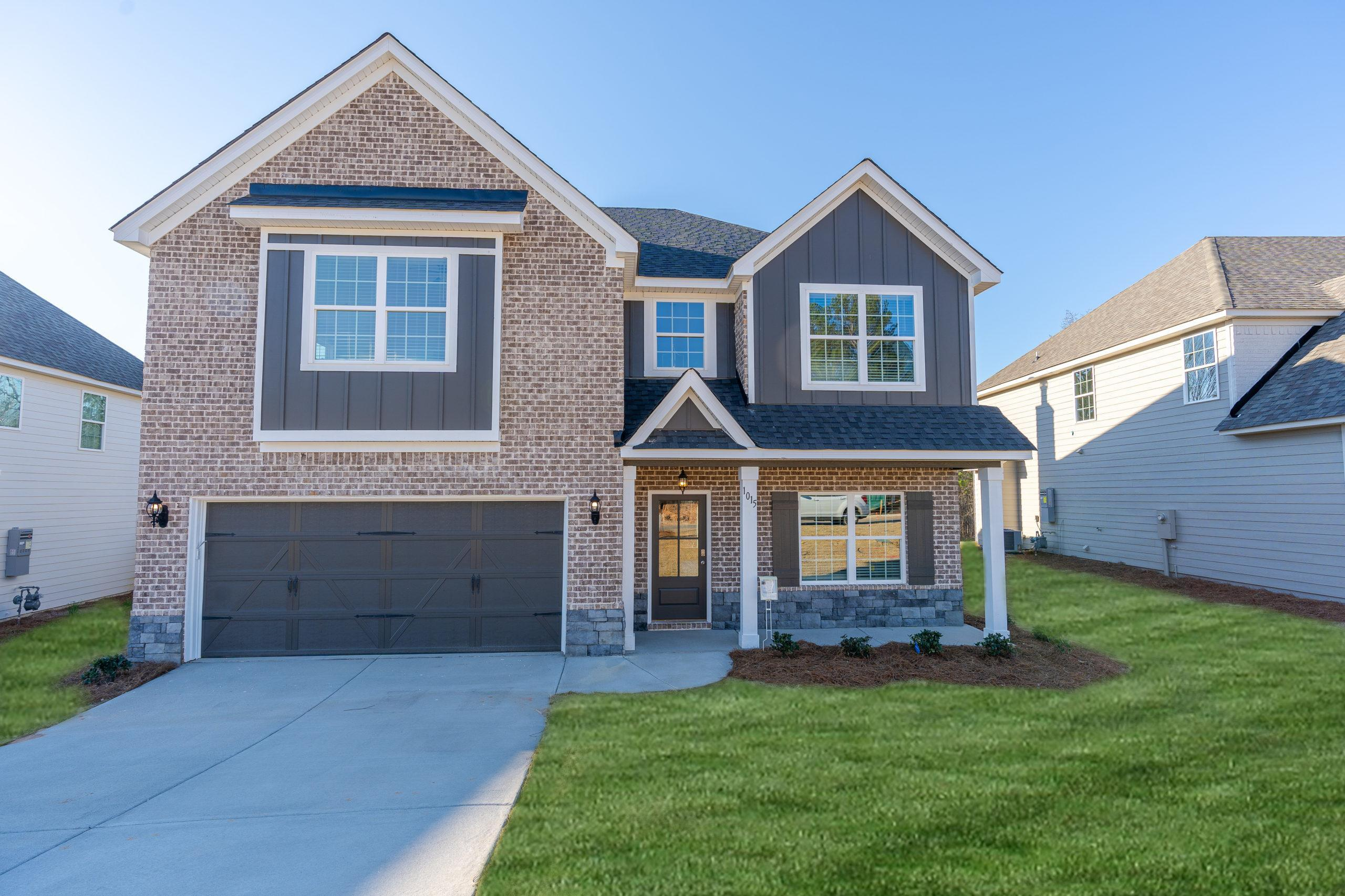 Exterior featured in the Gloria By Hughston Homes in Macon, GA