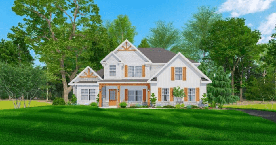 Exterior featured in the Oakwood By Hughston Homes in Augusta, GA