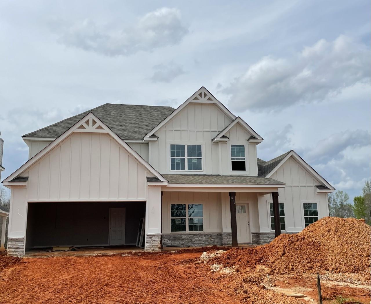 Exterior featured in the Redbud B By Hughston Homes in Macon, GA