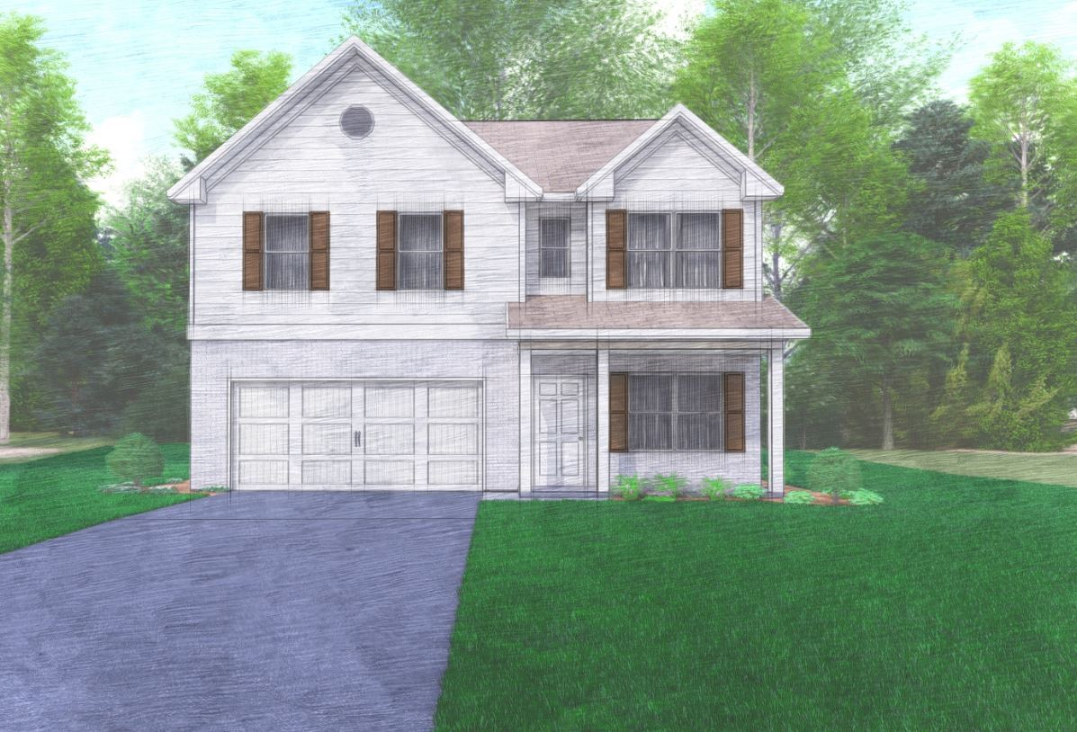 Exterior featured in the Peachtree By Hughston Homes in Macon, GA