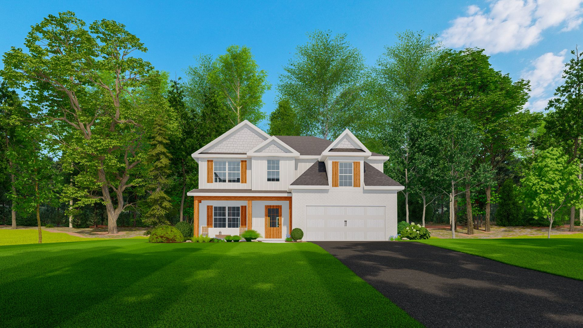 Exterior featured in the Camden By Hughston Homes in Auburn-Opelika, AL