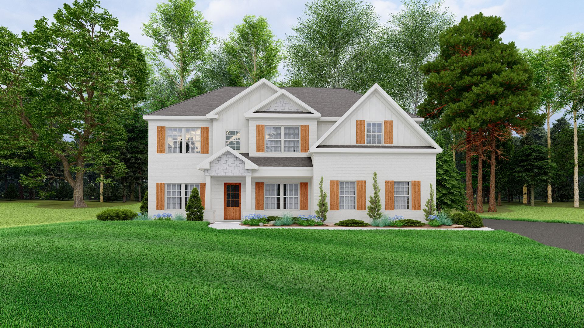 Exterior featured in the Cypress By Hughston Homes in Columbus, GA