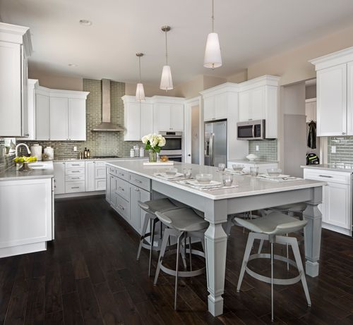 Kitchen-in-The Cambridge-at-Rathmor Park-in-South Lyon