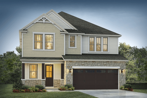 Delmar II Elevation 2:Beach Bovine Color Package
