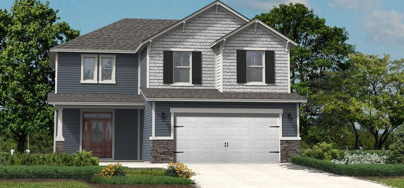 Exterior featured in the Dillon II By Hunter Quinn Homes in Charleston, SC