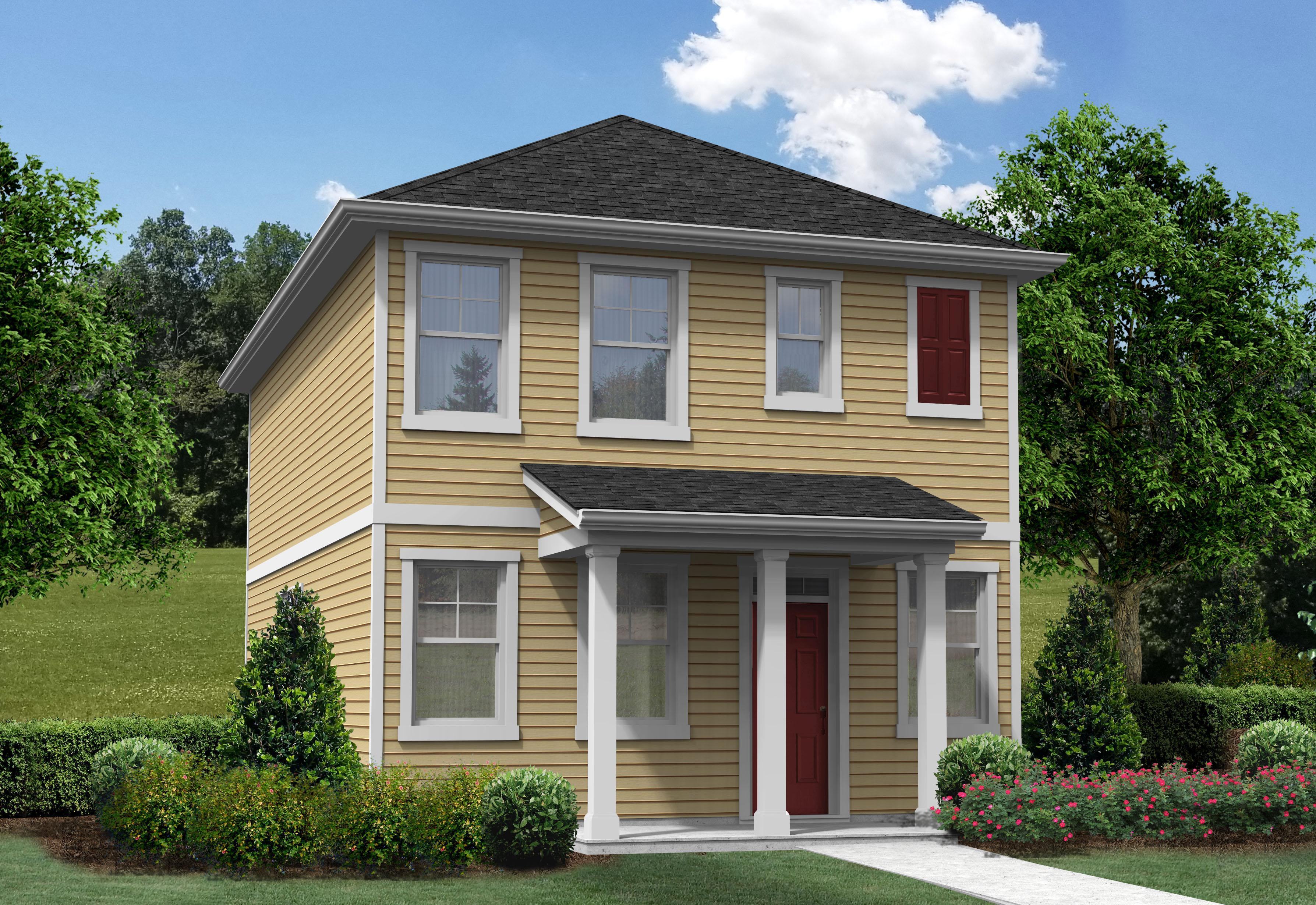 Exterior featured in the Collins II By Hunter Quinn Homes in Charleston, SC