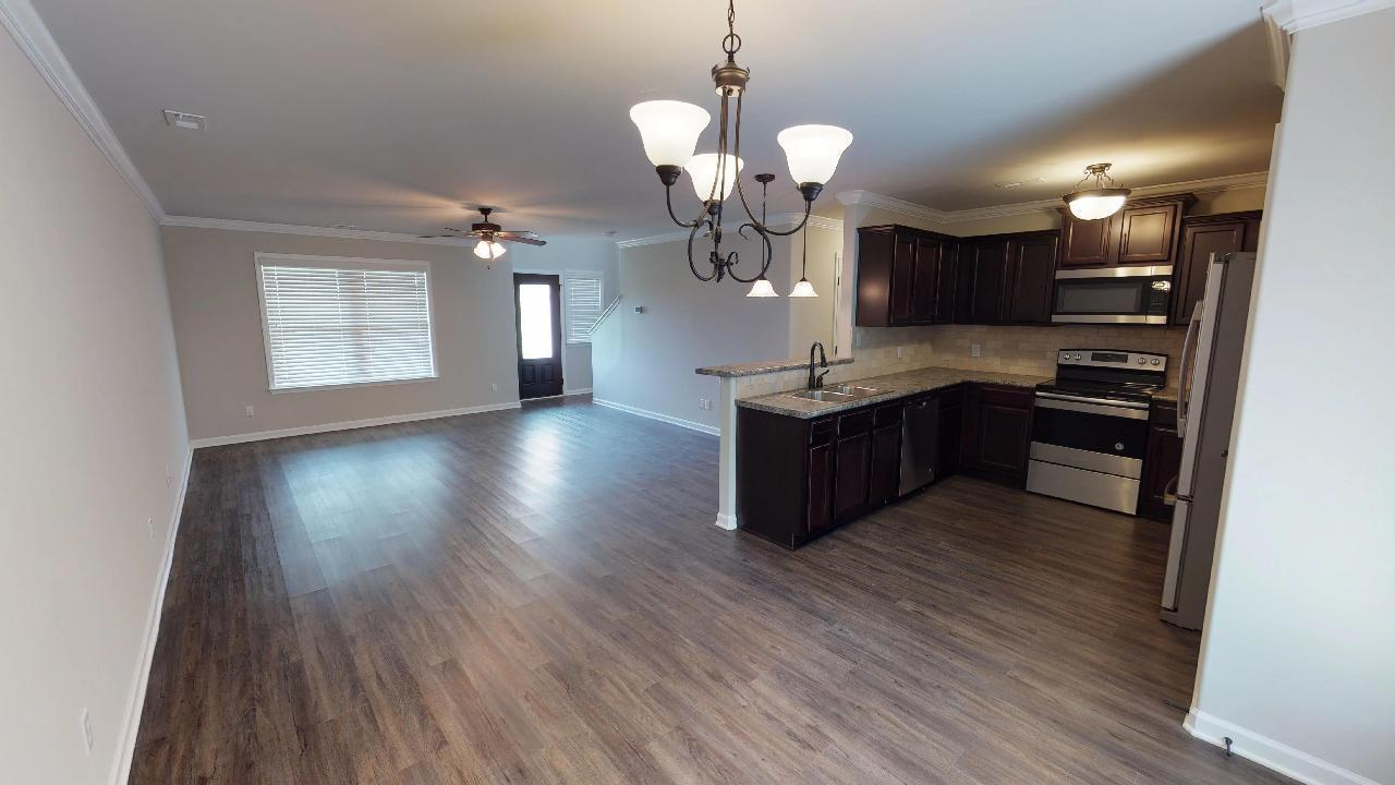 Kitchen featured in the 2160 Traditional By Hyde Homes in Huntsville, AL