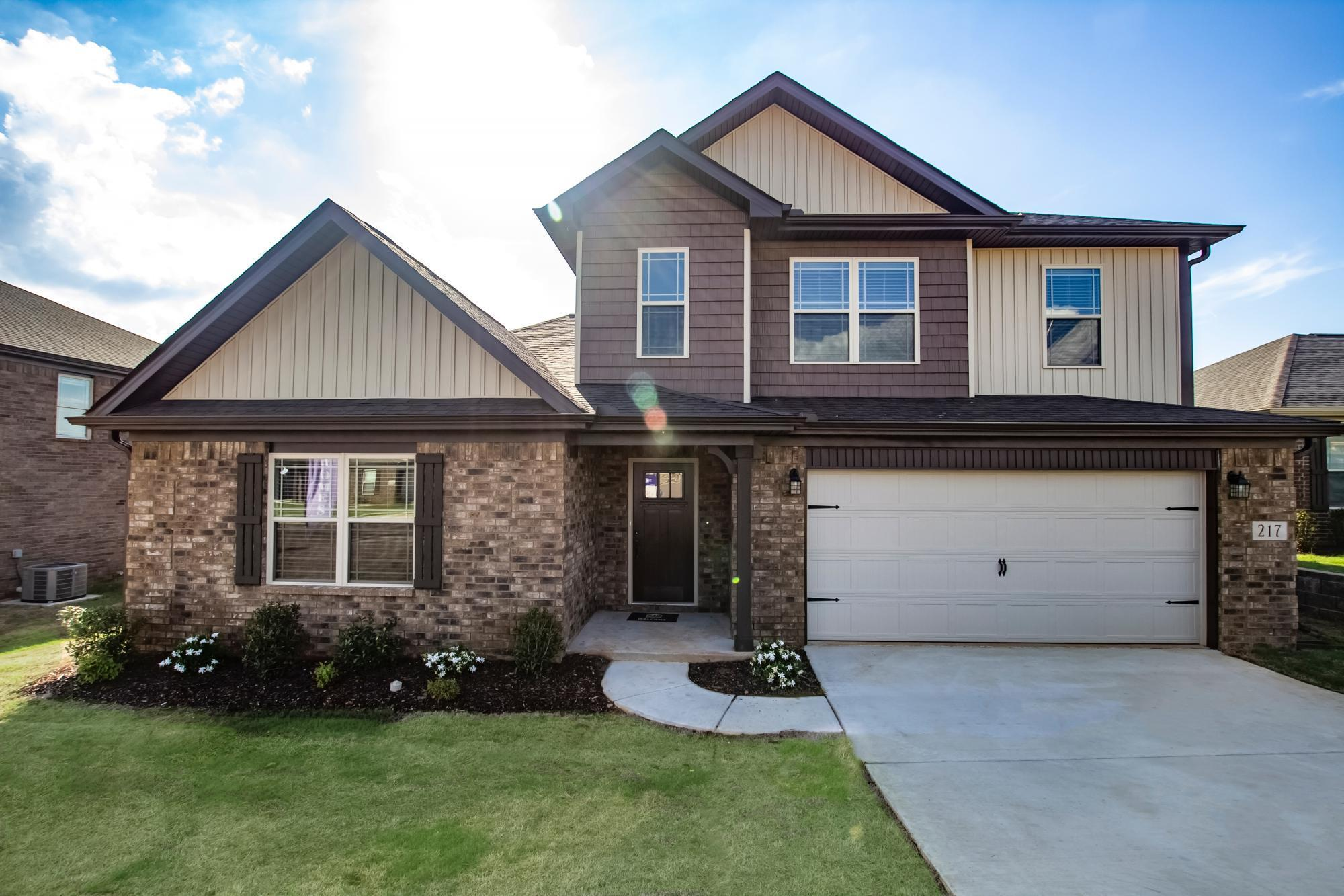 Exterior featured in the 2349 Traditional By Hyde Homes in Huntsville, AL