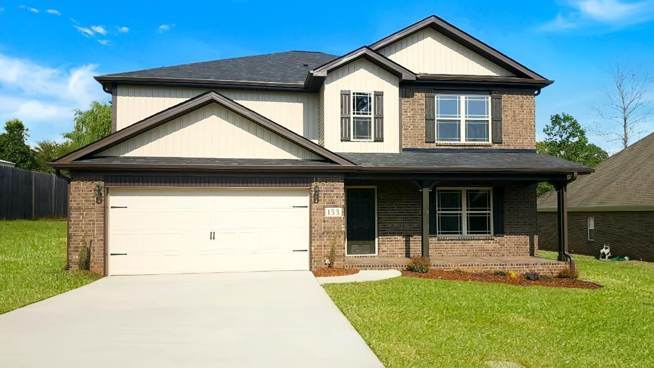 Exterior featured in the 2977 Traditional By Hyde Homes in Huntsville, AL