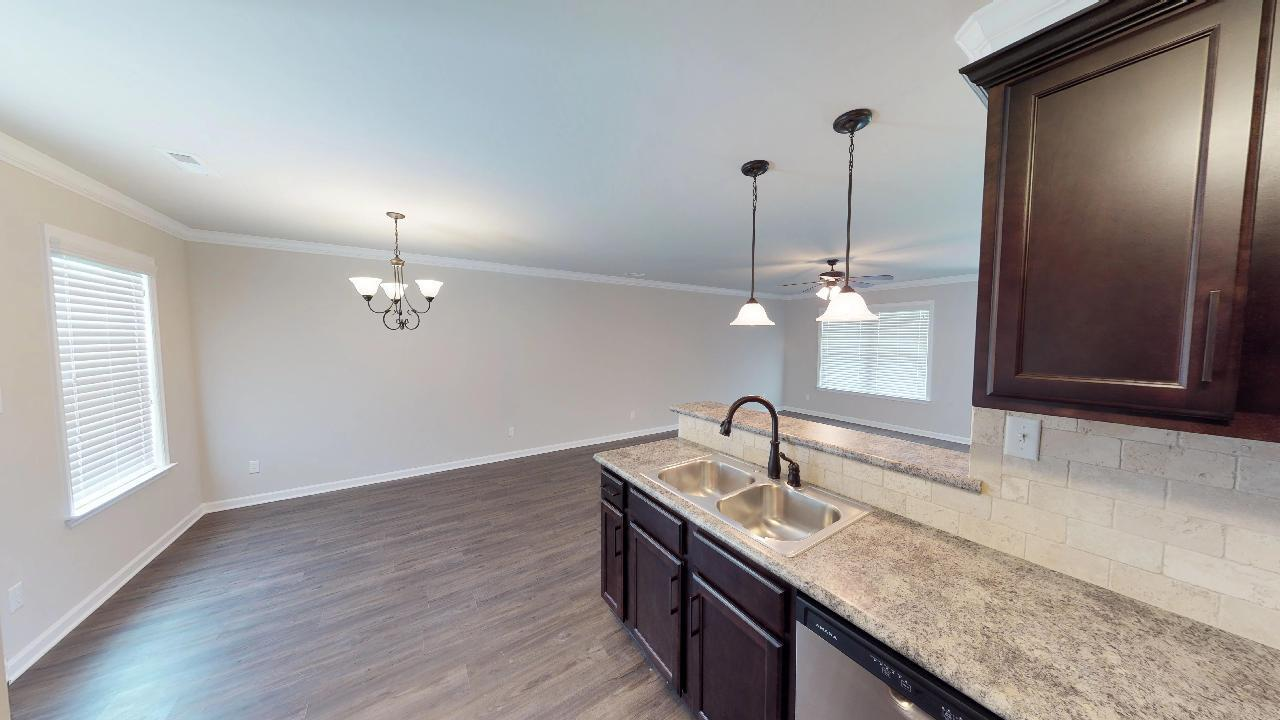 Kitchen featured in the 2160 Premier By Hyde Homes in Huntsville, AL