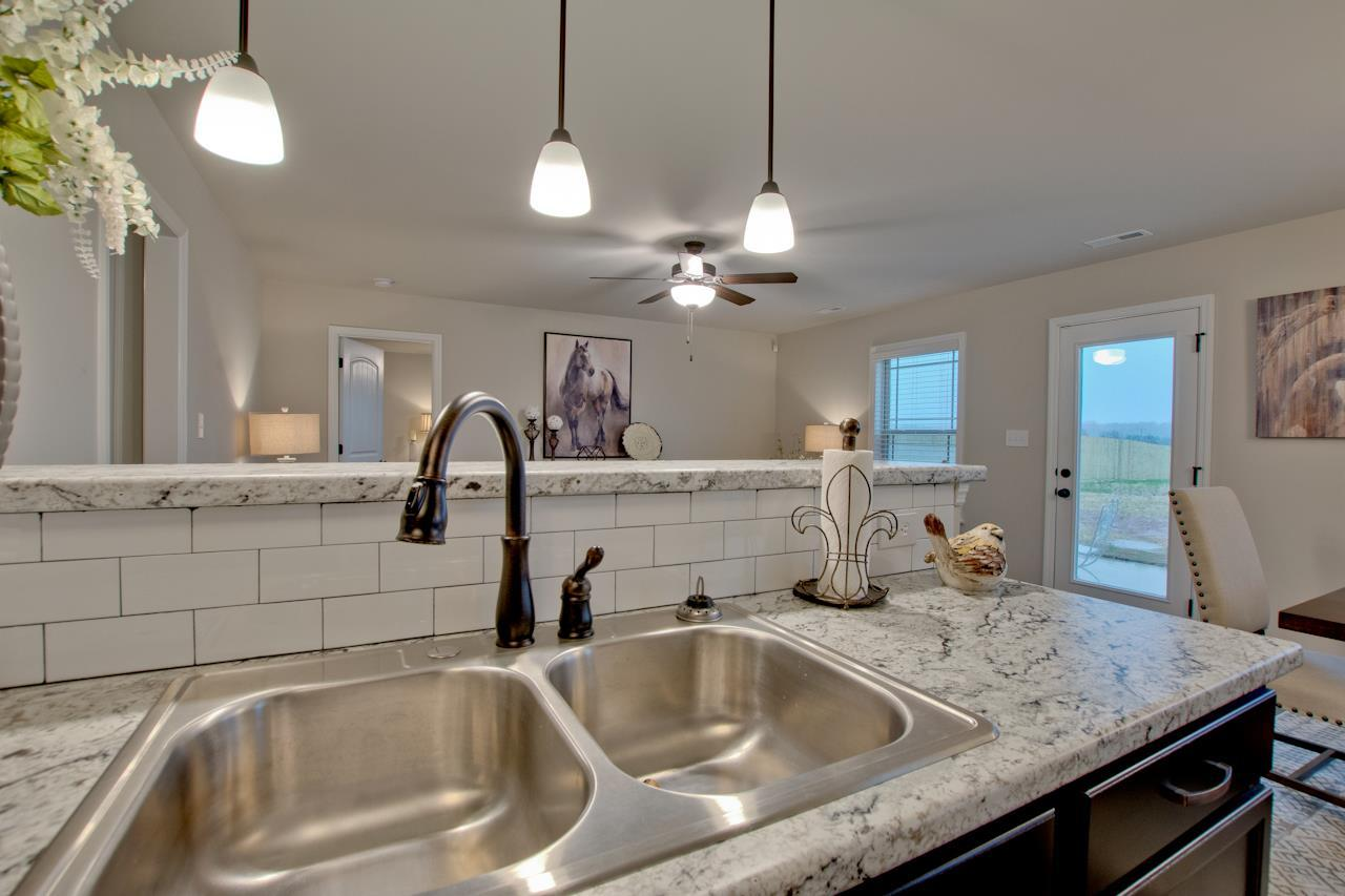Kitchen featured in the 2373 Premier By Hyde Homes in Huntsville, AL