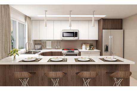 Kitchen-in-Daisy-at-Aurora at Grand Palms-in-Florida City