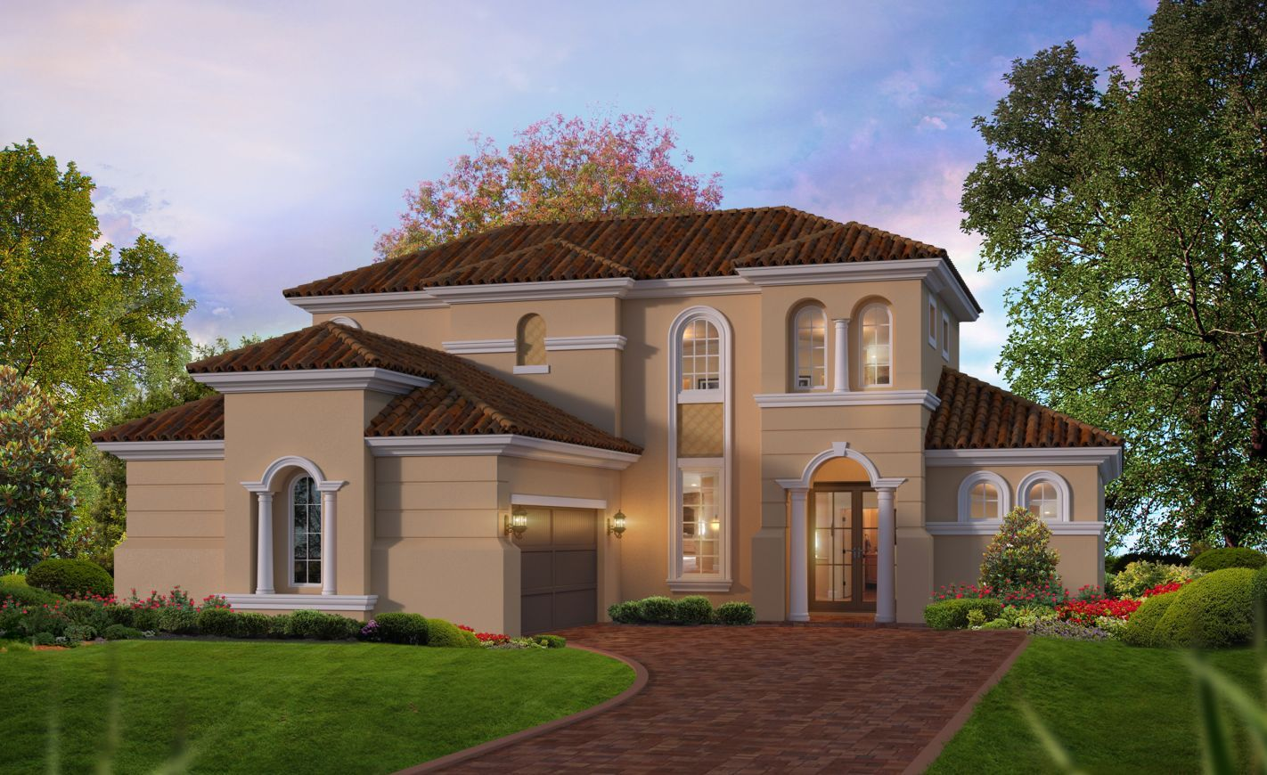 Exterior featured in the Siena By ICI Homes in Jacksonville-St. Augustine, FL
