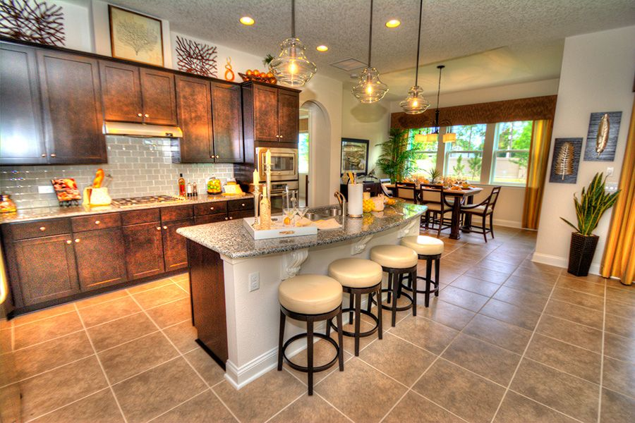 Kitchen featured in the Juliette By ICI Homes in Jacksonville-St. Augustine, FL