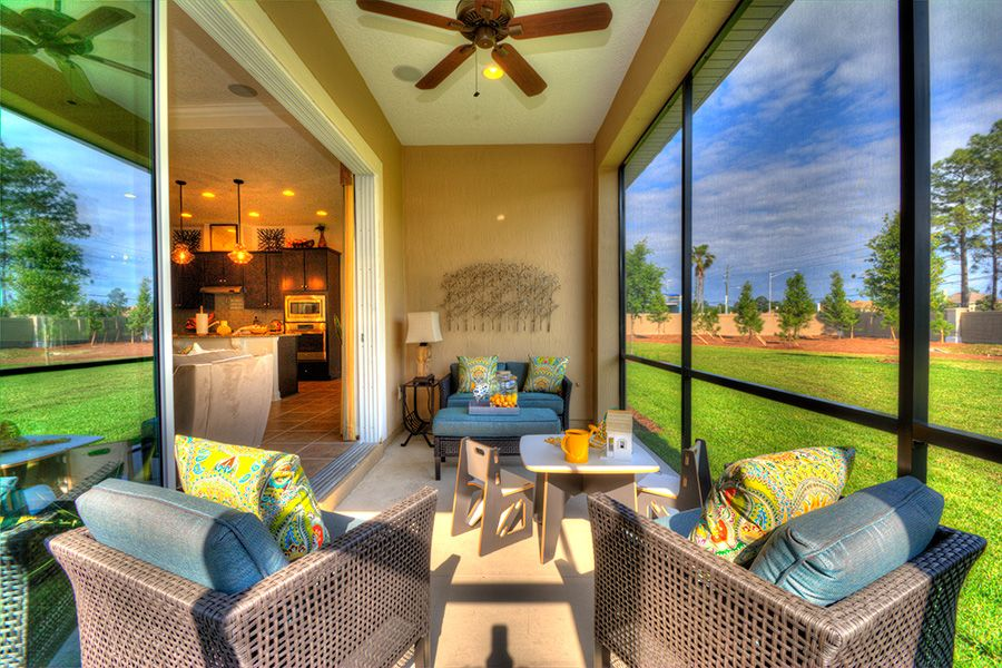 Exterior featured in the Juliette By ICI Homes in Gainesville, FL