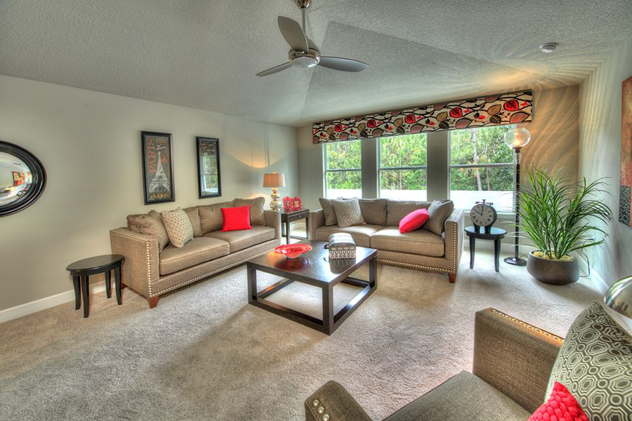 Living Area featured in the Belaire By ICI Homes in Gainesville, FL