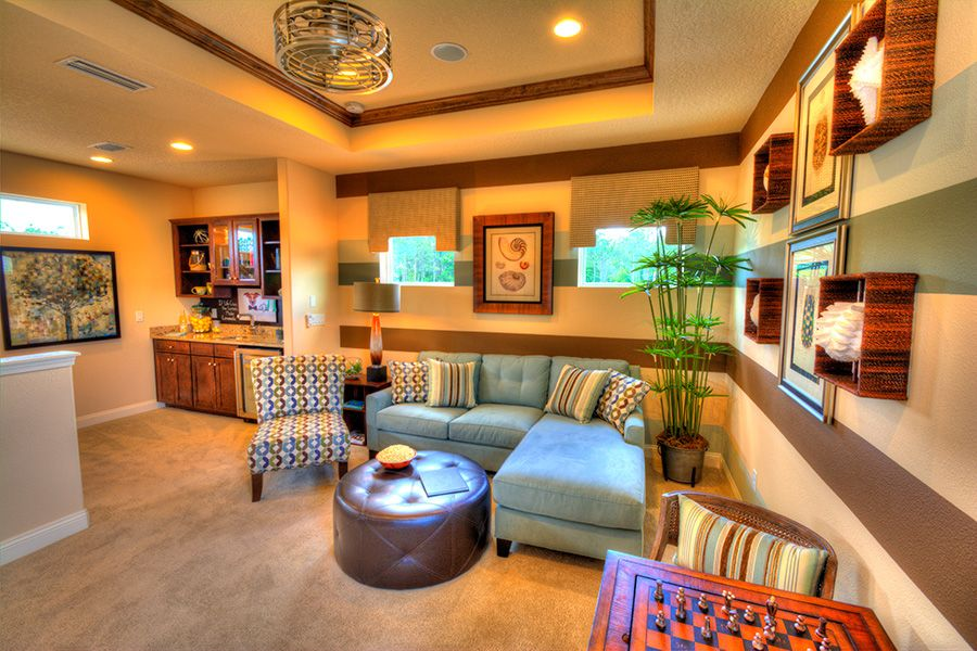 Living Area featured in the Siena By ICI Homes in Jacksonville-St. Augustine, FL