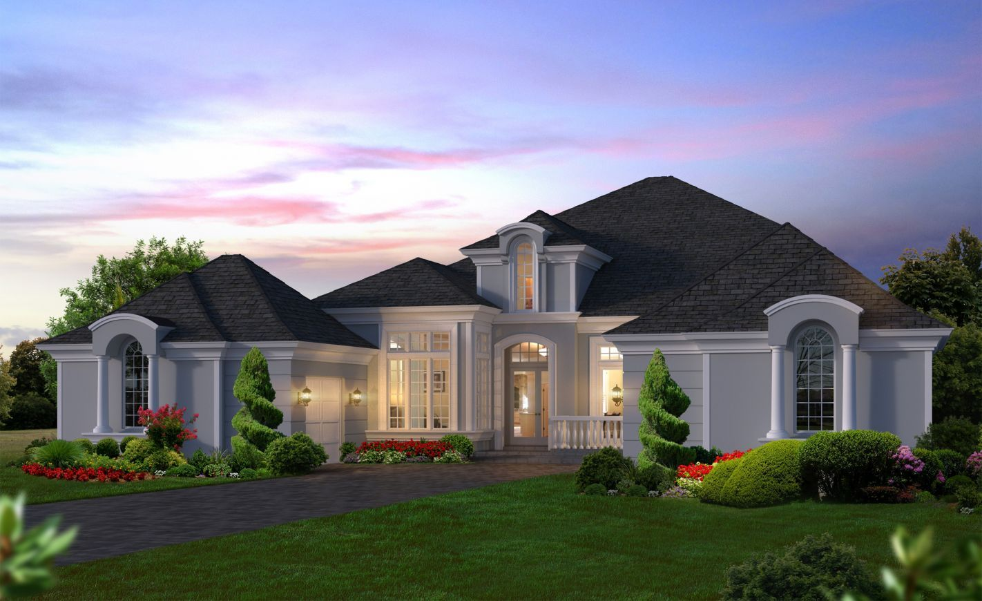 Exterior featured in the Bordeaux By ICI Homes in Daytona Beach, FL