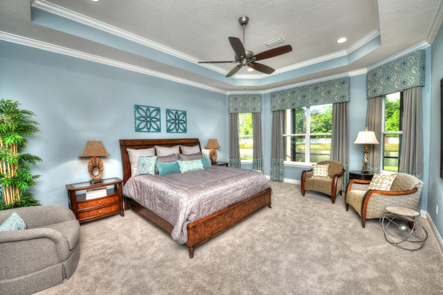 Bedroom featured in the Egret V By ICI Homes in Gainesville, FL