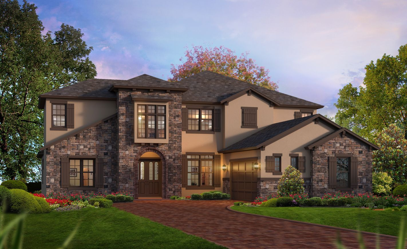 Exterior featured in the Augusta By ICI Homes in Daytona Beach, FL