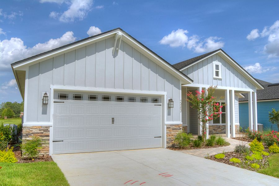 Exterior featured in the Weston By ICI Homes in Gainesville, FL