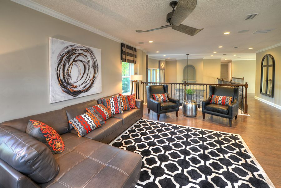 Living Area featured in the Brooke By ICI Homes in Daytona Beach, FL
