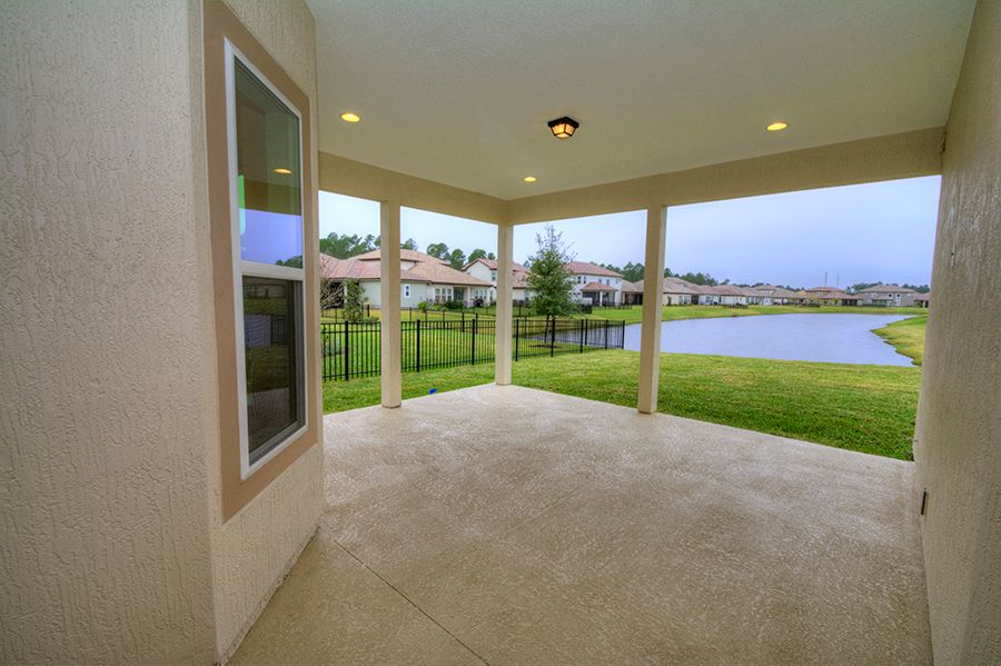 Exterior featured in the Carmela By ICI Homes in Jacksonville-St. Augustine, FL