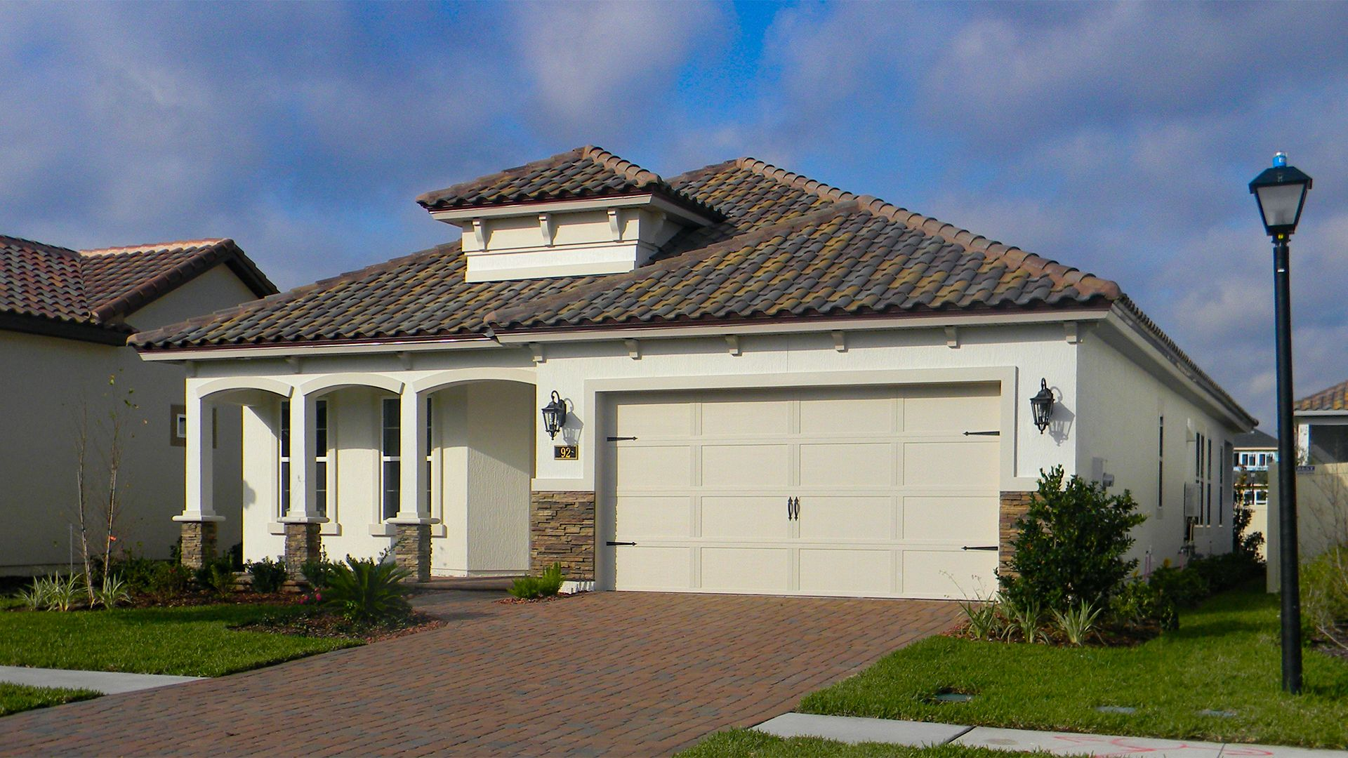Exterior featured in the Granada By ICI Homes in Jacksonville-St. Augustine, FL