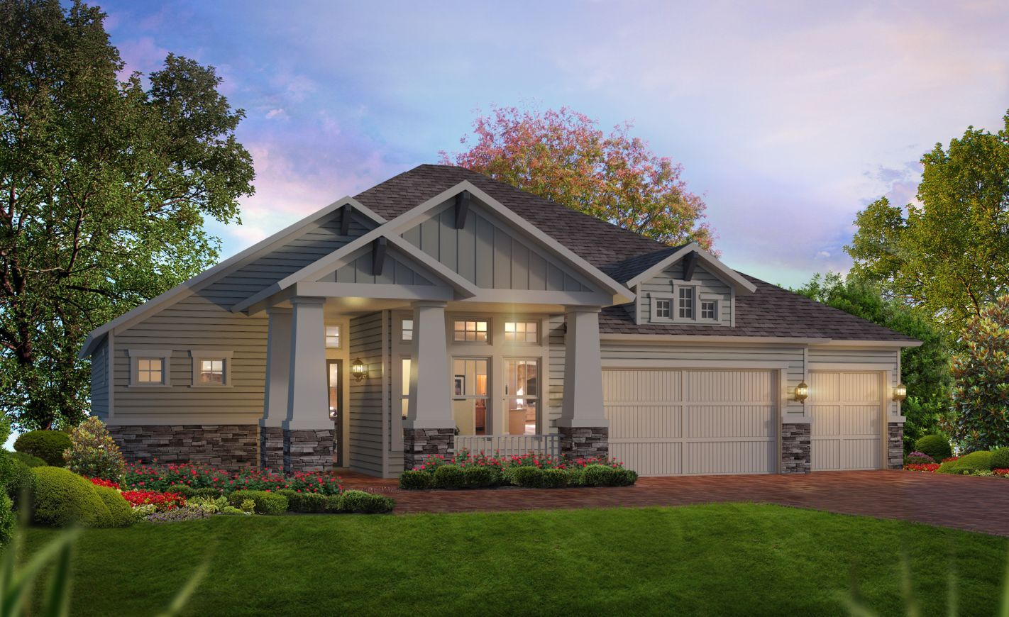 Exterior featured in the Pamela By ICI Homes in Jacksonville-St. Augustine, FL