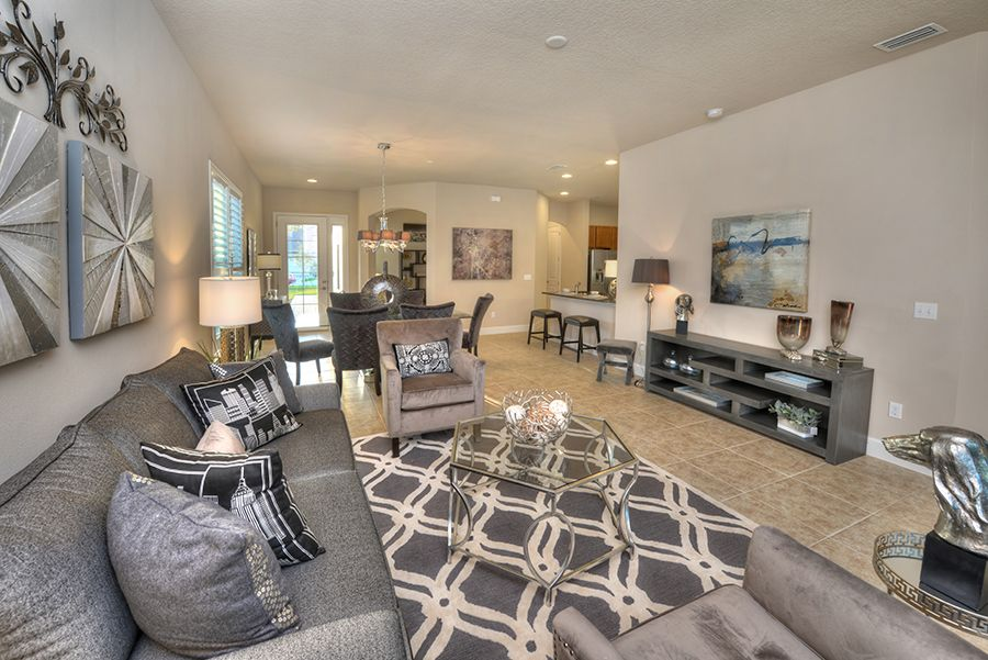 Living Area featured in the Arbor II By ICI Homes in Daytona Beach, FL