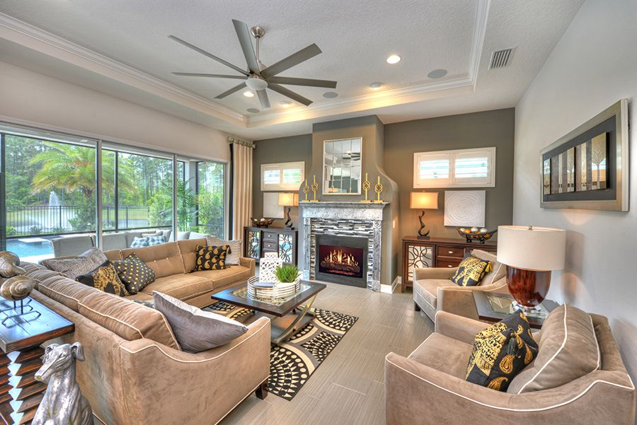 Living Area featured in the Juliette By ICI Homes in Daytona Beach, FL