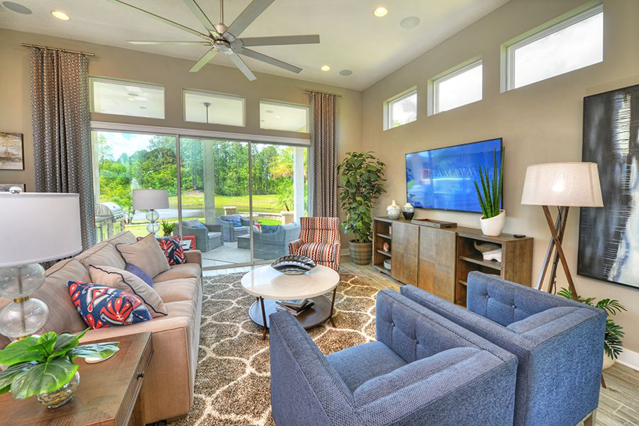 Living Area featured in the Serena By ICI Homes in Daytona Beach, FL