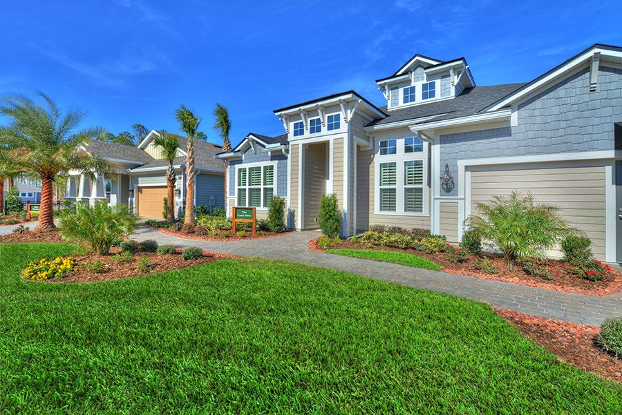 Exterior featured in the Costa Mesa By ICI Homes in Tampa-St. Petersburg, FL