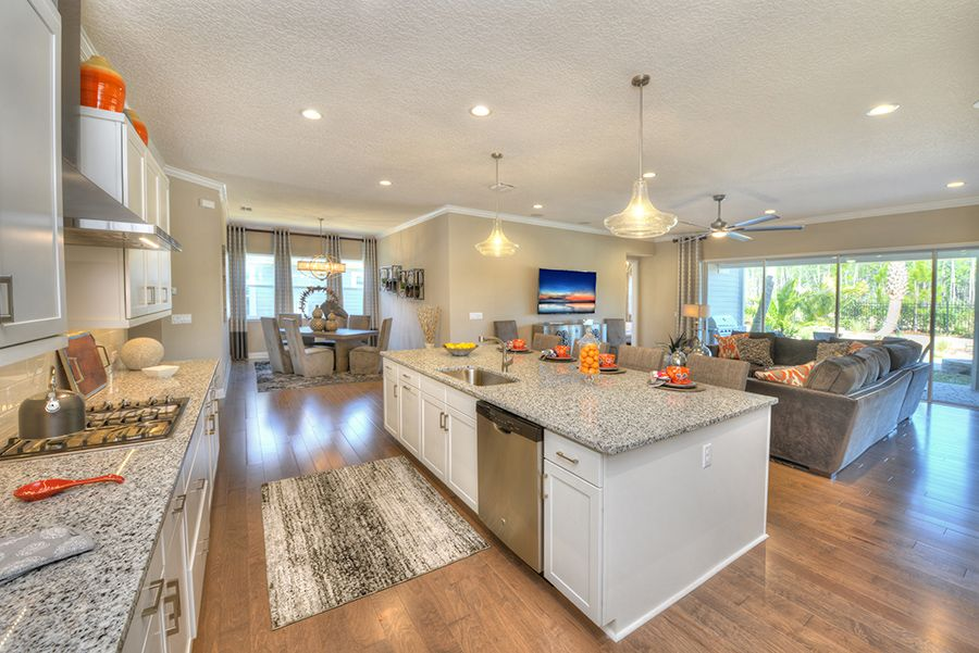Kitchen featured in the Costa Mesa By ICI Homes in Tampa-St. Petersburg, FL