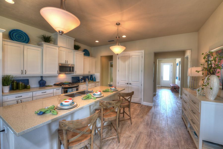 Kitchen featured in the Belaire By ICI Homes in Gainesville, FL