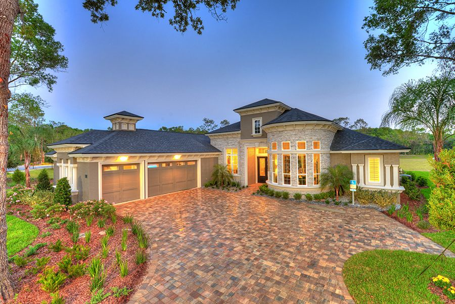 Exterior featured in the Isabella By ICI Homes in Daytona Beach, FL