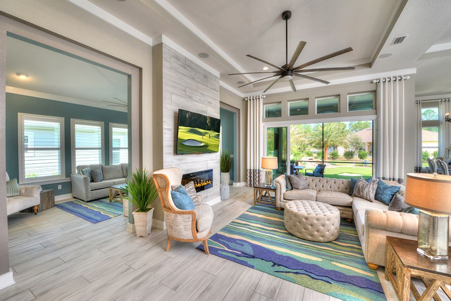 Living Area featured in the Cameron By ICI Homes in Jacksonville-St. Augustine, FL