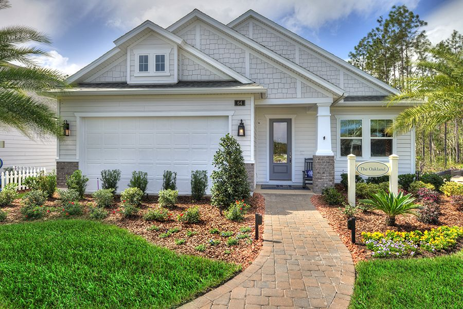 Exterior featured in the Oakland By ICI Homes in Gainesville, FL