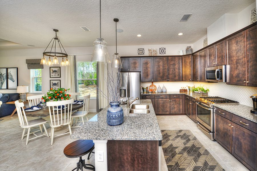 Kitchen featured in the Oakland By ICI Homes in Jacksonville-St. Augustine, FL
