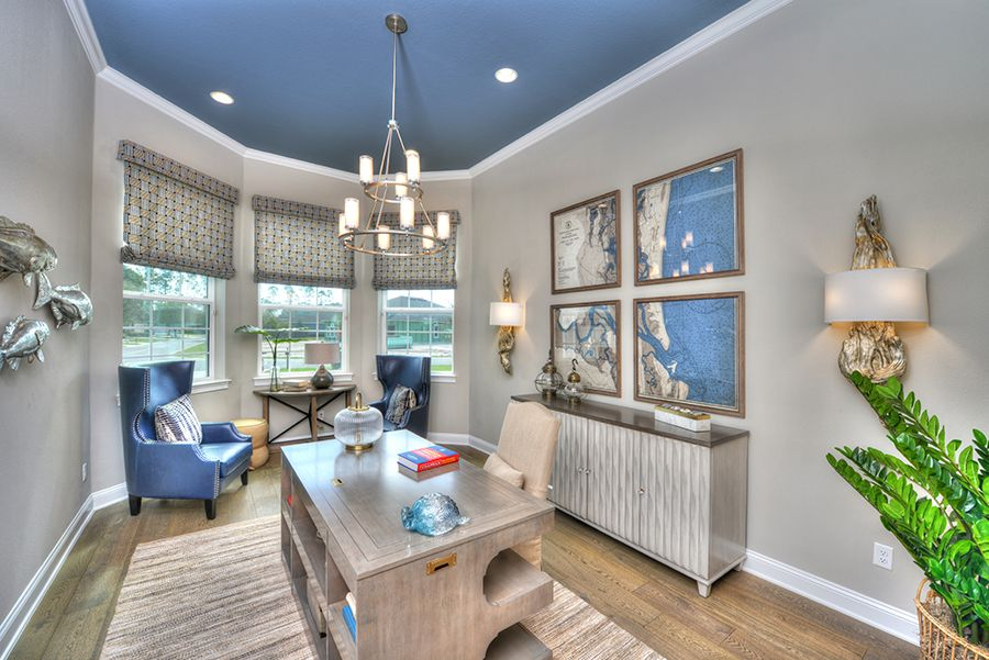 Living Area featured in the Egret V By ICI Homes in Gainesville, FL