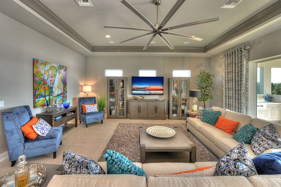 Living Area featured in the Arden By ICI Homes in Gainesville, FL