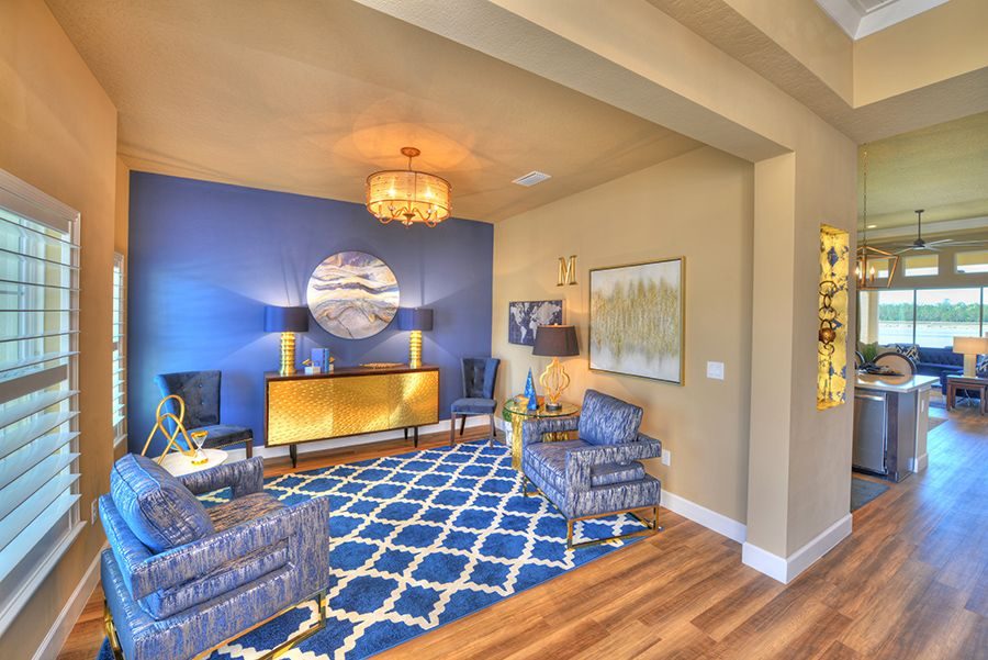 Living Area featured in the Oakland By ICI Homes in Jacksonville-St. Augustine, FL
