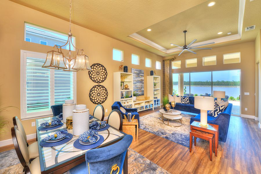 Living Area featured in the Oakland By ICI Homes in Gainesville, FL