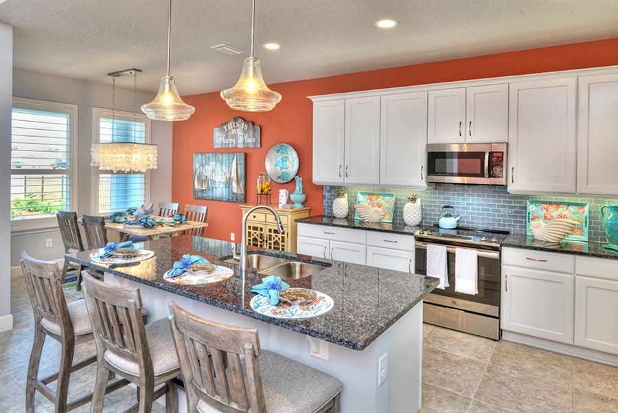 Kitchen featured in the Fontana By ICI Homes in Jacksonville-St. Augustine, FL