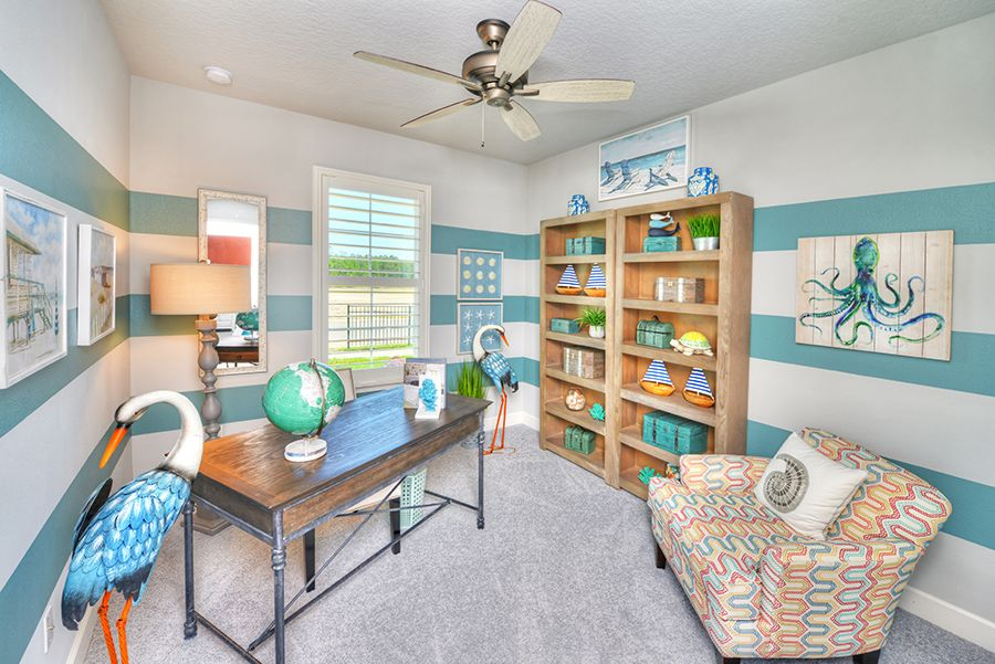 Living Area featured in the Fontana By ICI Homes in Jacksonville-St. Augustine, FL