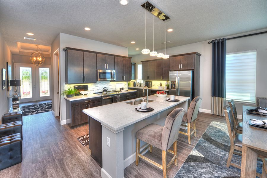Kitchen featured in the Santa Rosa By ICI Homes in Jacksonville-St. Augustine, FL