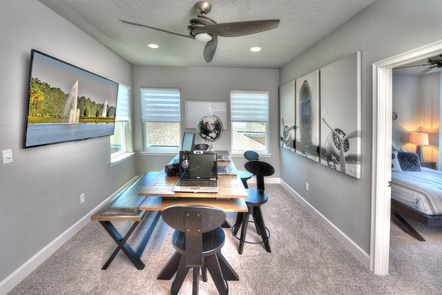 Living Area featured in the Santa Rosa By ICI Homes in Jacksonville-St. Augustine, FL